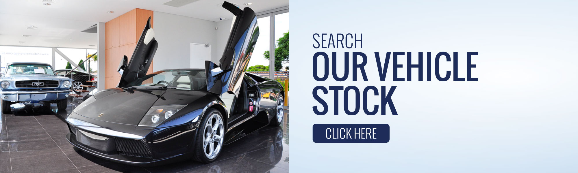 Search Our Vehicle Stock